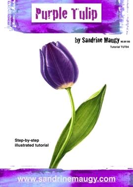 blog purple tulip tut front page